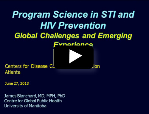 Program Science in STI and HIV Prevention – Global Challenges and Emerging Experience